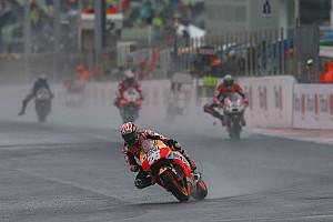 MotoGP Réactions En manque de grip, Pedrosa a été en difficulté sur le mouillé