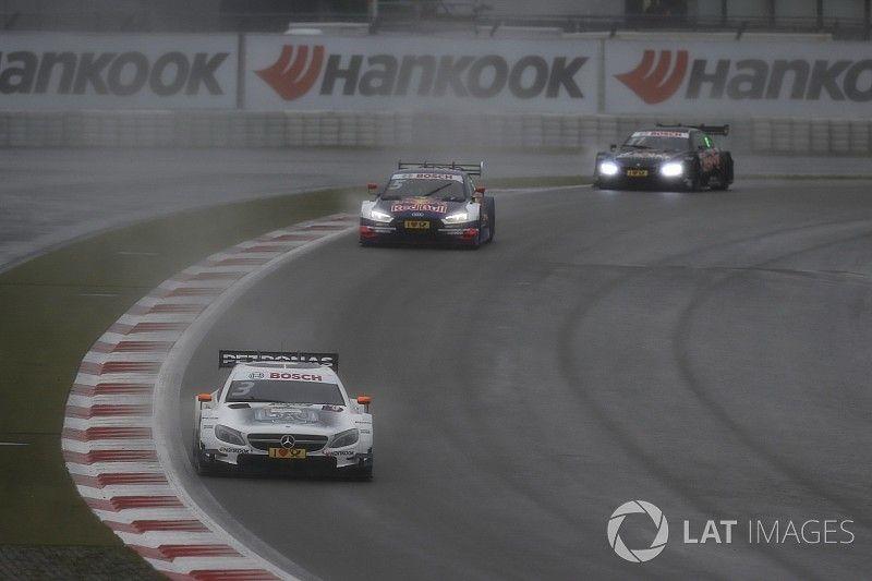 DTM Nürburgring: Di Resta snelste in natte omstandigheden