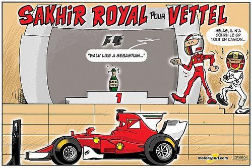 Le Grand Prix de Bahreïn 2017 vu par Cirebox