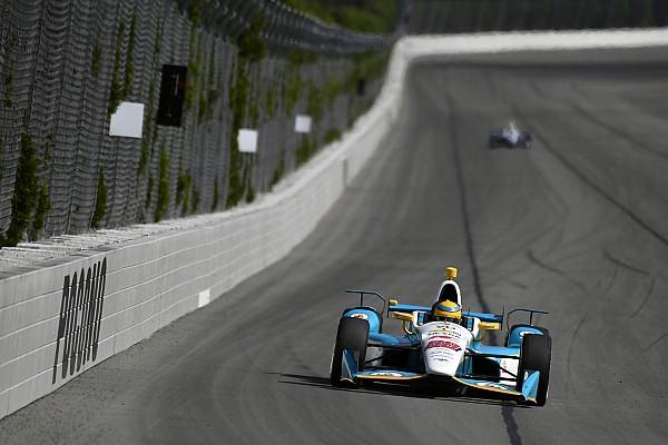 IndyCar Chaves satisfecho con su primer test con Harding Racing