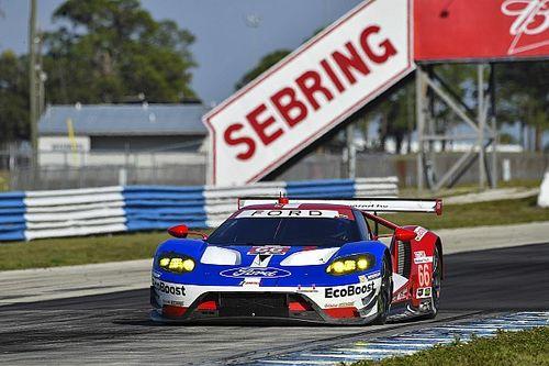 Tre Ford GT della Chip Ganassi Racing alla 12h di Sebring