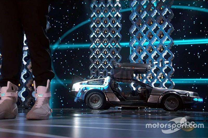 Vidéo - La DeLorean, l'autre star des Oscars!
