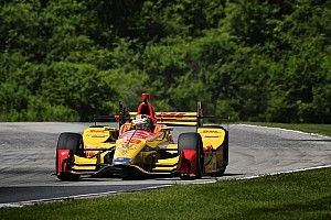 Road America IndyCar: Hunter-Reay tops warm-up