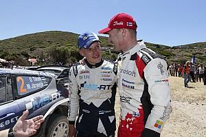 WRC News Jari-Matti Latvala: Keine Angst vor neuem Teamkollegen Ott Tänak