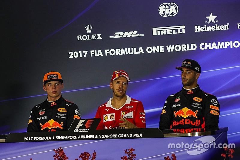 Ricciardo szerint Verstappen gyorsabb Vettelnél