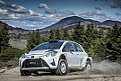 Other rally Harry Bates shakes down AP4 Yaris in Australia