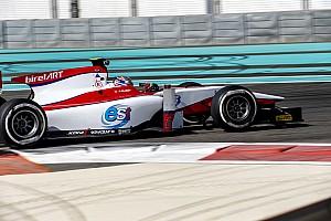 FIA F2 Testing report Rookie Albon quickest on Day 2 of post-season test