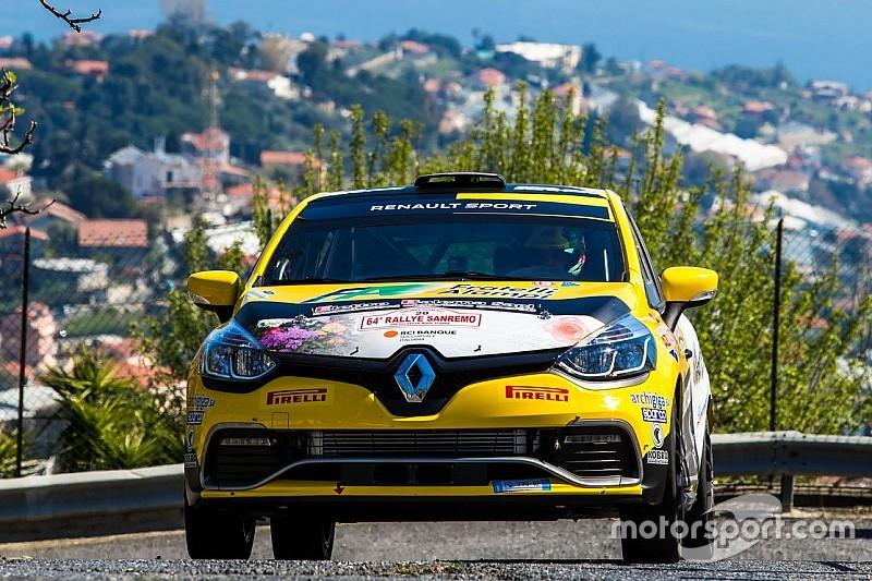 Sanremo: Gilardoni sugli scudi tra le Clio, Paris tra le Twingo