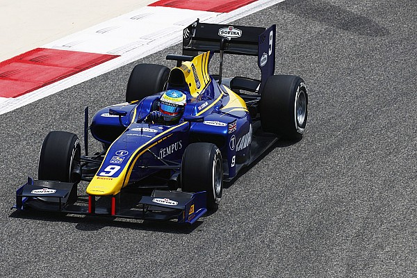FIA F2 Bahrain F2: Rowland leads first practice of new era