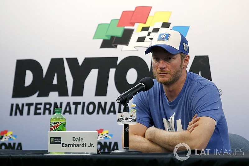 Dale Jr. is done competing full-time, but not done racing