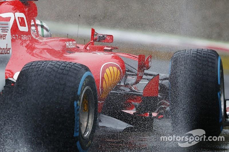 Monza'da cuma günü yağmur bekleniyor