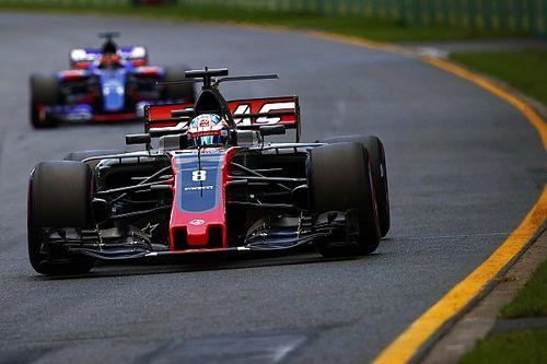 Rivales de Haas, conmocionados por el rendimiento de Grosjean
