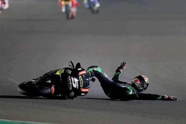 MotoGP Intervista Che debutto per Zarco: cade ma comanda la gara di Losail per 6 giri!