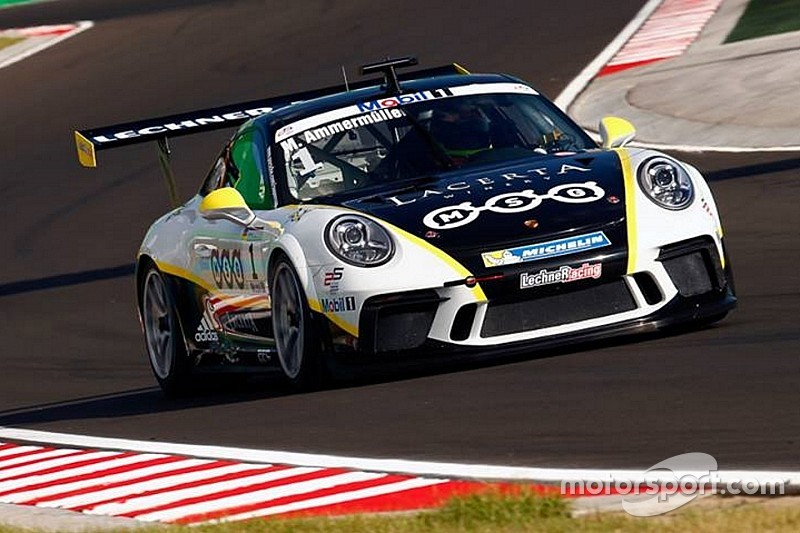 Michael Ammermuller ritorna in pole all'Hungaroring