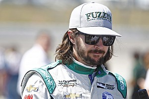 IndyCar Breaking news Hildebrand content with runner-up finish at Iowa
