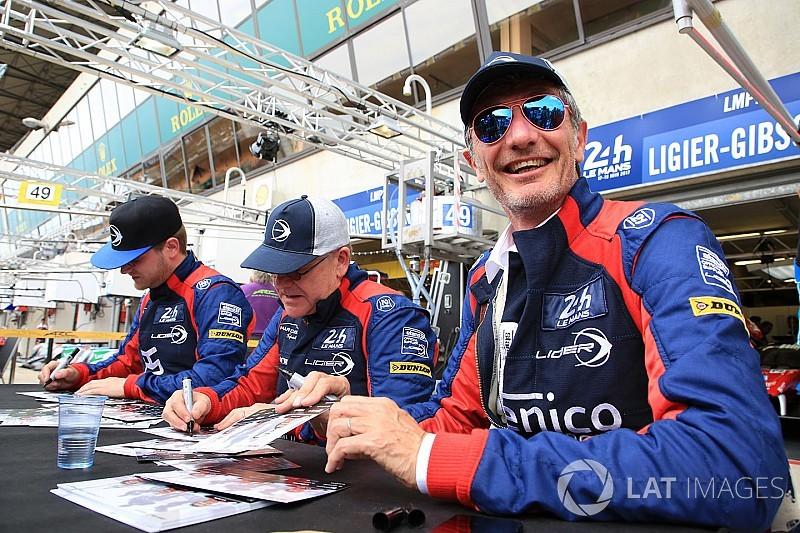Padre e hijo, una aventura en Le Mans