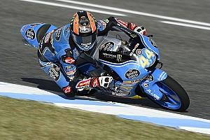 Moto3 Gara Canet infila Fenati all'ultima curva a Jerez: è la sua prima vittoria