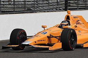 GALERI: Aksi debut Alonso di tes Indianapolis