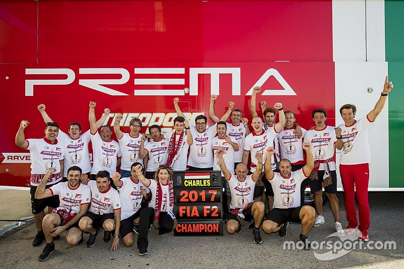 Feature Race F2 Jerez: Leclerc klaim gelar, Gelael tertinggal satu lap