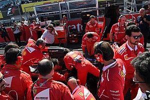 Ferrari kembali bermasalah, Vettel makin jauh dari gelar juara dunia