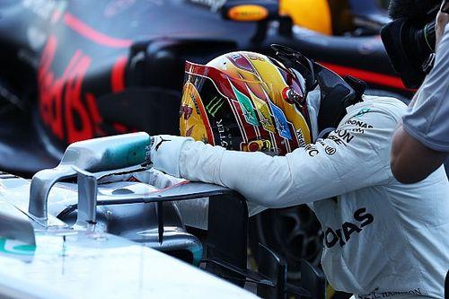 Mercedes: c'è un allarme motore sulla W08 di Hamilton