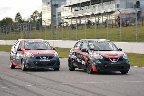 Finale of the 2017 Nissan Micra Cup at Mont-Tremblant
