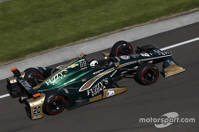 Indy 500: Ed Carpenter Racing 1-2 at midway point in Day 3 practice