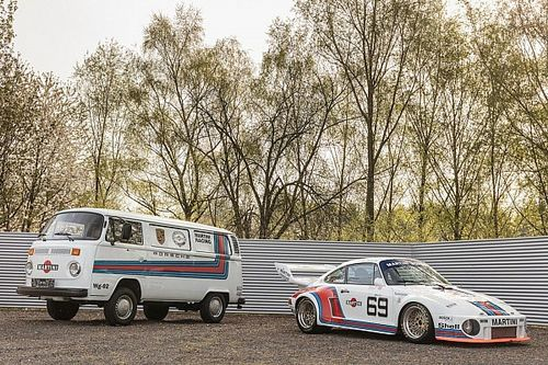 Amazing Porsche 935 and matching support van for sale