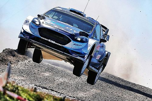 Portugal WRC: Tanak on top after wild opening day