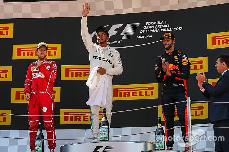 ترتيب بطولة العالم للفورمولا واحد بعد جائزة إسبانيا الكبرى
