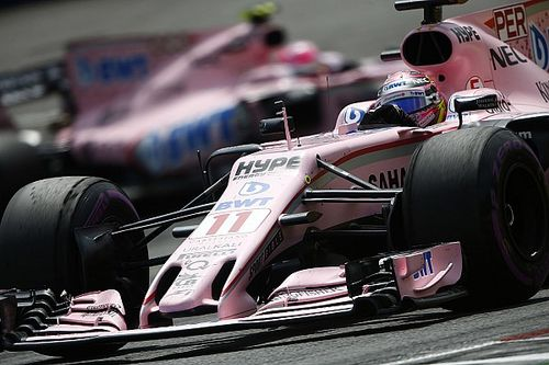 First half of Force India's 2017 season in photos