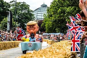 General Самое интересное Из спичек и желудей: в Лондоне прошла гонка Red Bull Soapbox