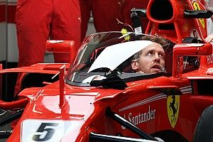 "Após teste, Vettel reprova uso de escudo: ""Me deu tontura"""
