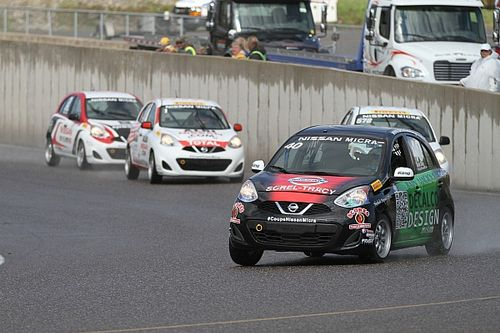 Kevin King wins Micra Cup race at Mont-Tremblant