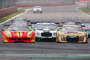 The GT Asia Series battle continues in the heat of Thailand