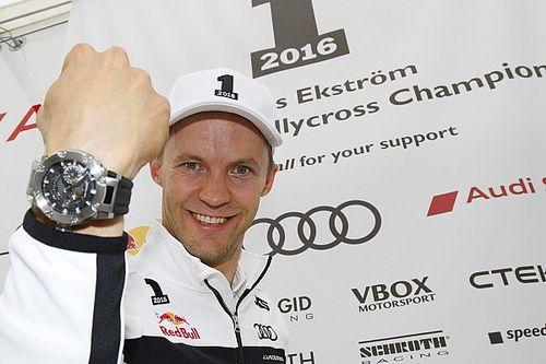 Almanya WRX: 2016 Dünya Rallikros Şampiyonu Mattias Ekström!