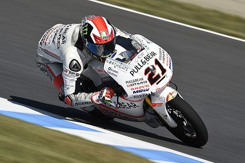 "Exhausted Bagnaia ""hoped for much more"" from Motegi"