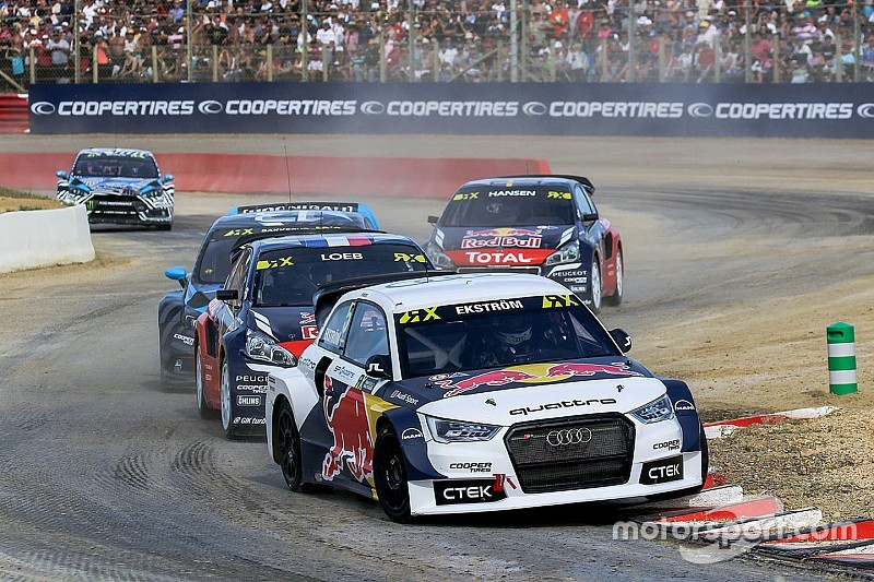 France WRX: Ekstrom ends Day 1 on top