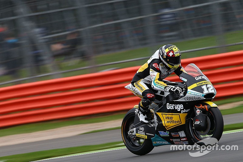 Silverstone Moto2: Luthi takes return win, Zarco takes out Lowes