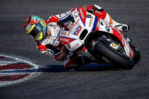 Леонов провёл тесты мотоцикла класса MotoGP
