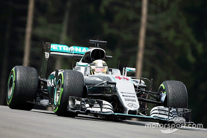 Silver Arrows deliver as rain provides tense qualifying session