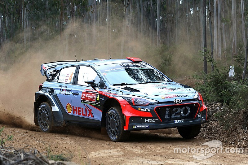 Lessons to learn for Hyundai Motorsport on penultimate day of Rally de Portugal