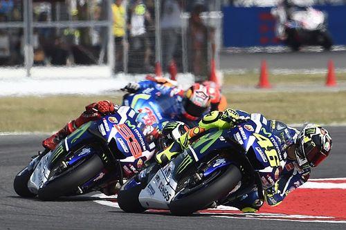 Mamola column: Aggressiveness just part of MotoGP show
