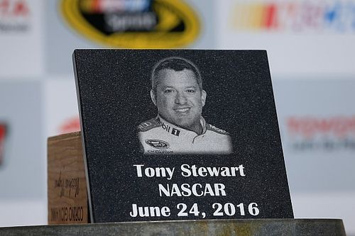 Stewart inducted into track's Wall of Fame ahead of final Sonoma start