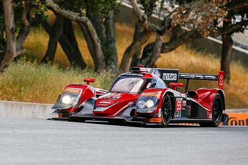 Mazda tops practice at its 'own' track