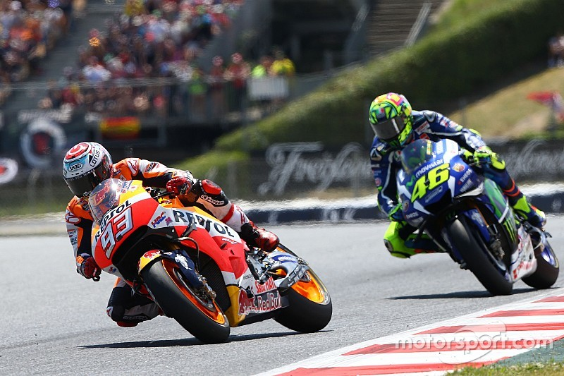Marquez says Rossi stronger now than in 2015