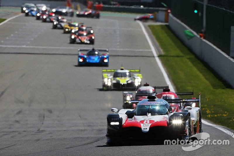Toyota expected privateers to be closer at Spa