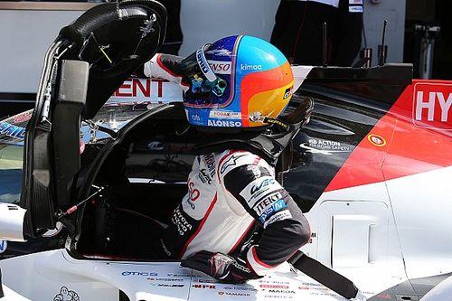 Alonso éjfélig tanulmányozta a Toyota adatait