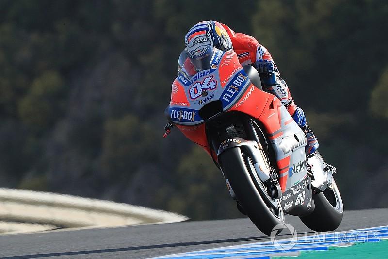 FP1 MotoGP Spanyol: Dovizioso ungguli Marquez 0,007 detik
