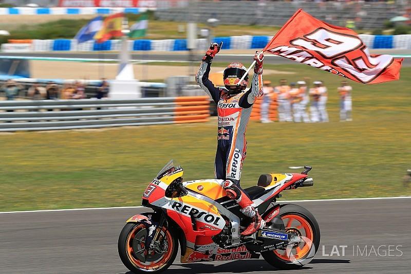 MotoGP Jerez: Marquez kazandı, Ducati'ler ve Pedrosa kaza yaptı!